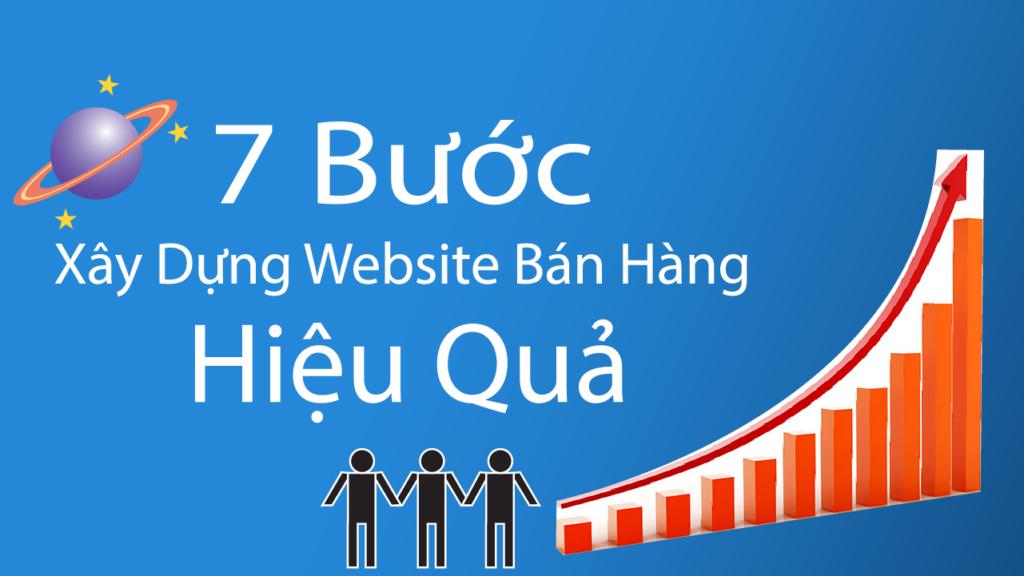 7 bước xây dựng website bán hàng hiệu quả