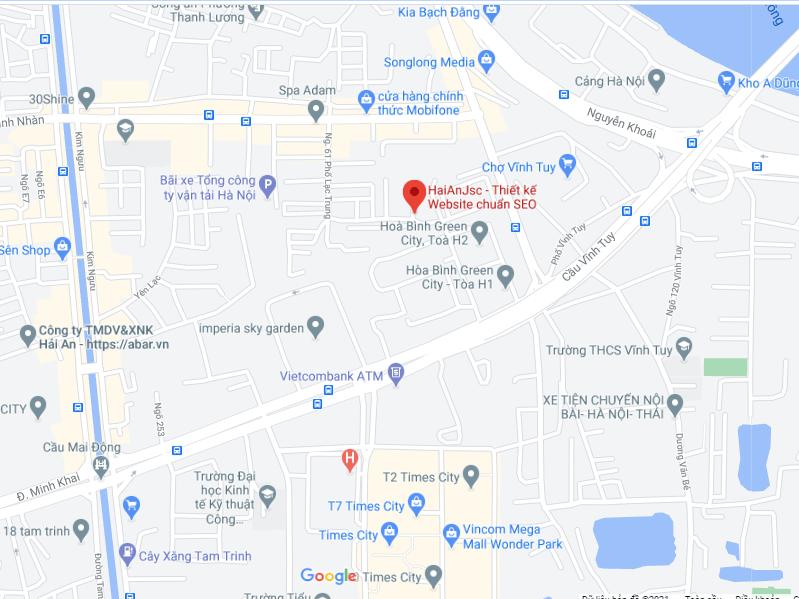 Bản đồ Hải An JSC